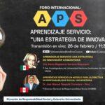 Foro internacional: Aprendizaje servicio