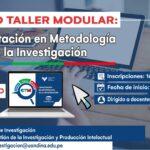 Curso taller modular: Capacitación en metodología de la investigación