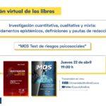 Presentación virtual de libros 22 abril