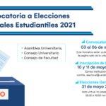 Convocatoria a Elecciones Generales Estudiantiles 2021