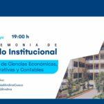 Saludo institucional por 37 aniversario - Facultad de Ciencias Económicas, Administrativas y Contables
