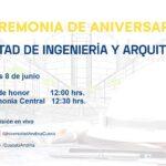 Ceremonia de Aniversario de la Facultad de Ingeniería y Arquitectura