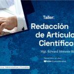 Taller Redacción de Artículos Científicos