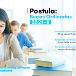 Becas ordinarias 2021-2 - Pregrado