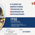 II Curso de especialización para inspectores técnicos de seguridad en edificaciones (ITSE)