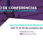 Actividades por Aniversario 2021-II - Medicina Humana
